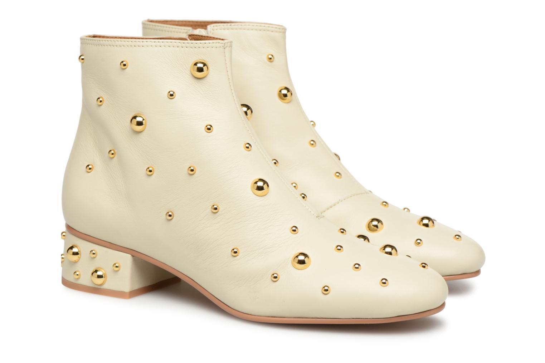Stiefeletten & Boots See by Chloé Abby beige 3 von 4 ansichten