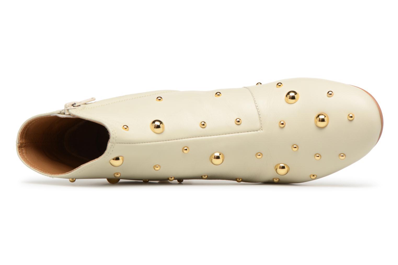 Stiefeletten & Boots See by Chloé Abby beige ansicht von links