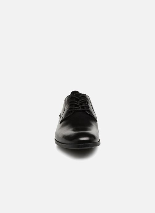 Schnürschuhe Clarks Conwell Plain schwarz schuhe getragen