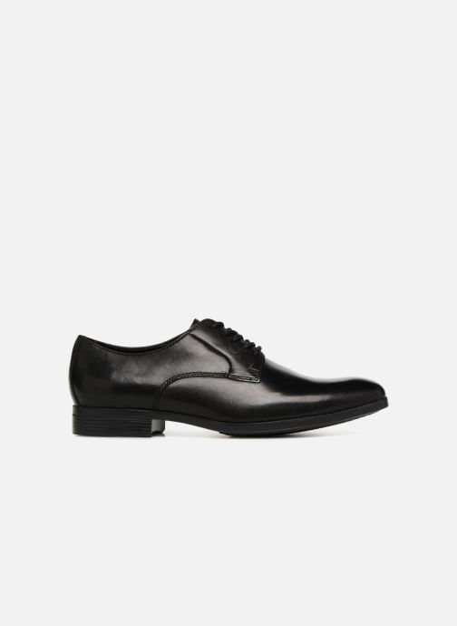 Chaussures à lacets Clarks Conwell Plain Noir vue derrière
