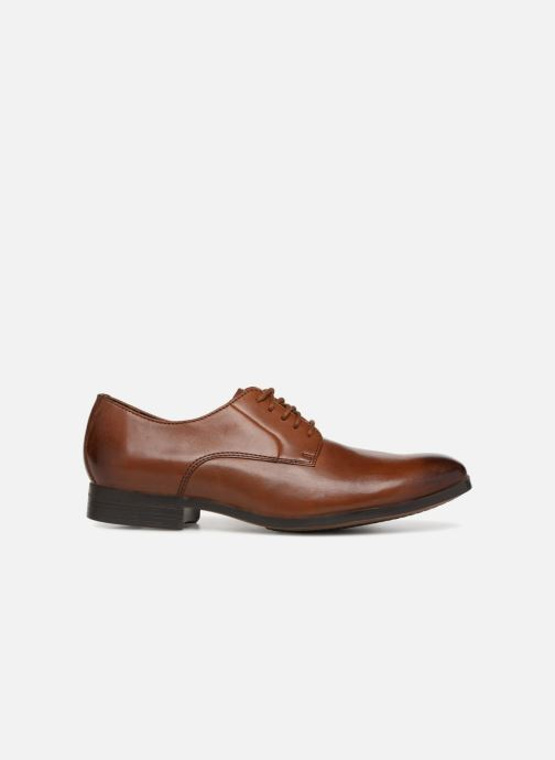 Lace-up shoes Clarks Conwell Plain Brown back view