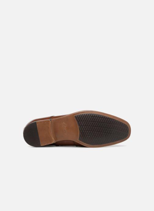 Zapatos con cordones Clarks Conwell Plain Marrón vista de arriba