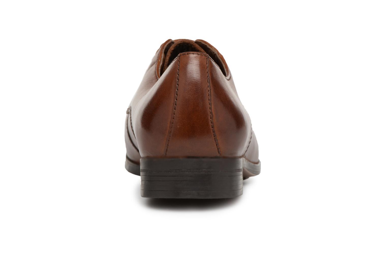 Chaussures à lacets Clarks Conwell Plain Marron vue droite