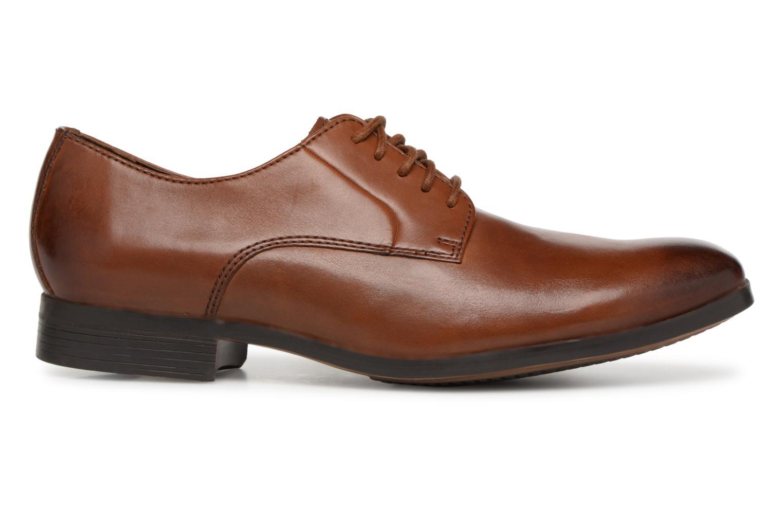 Chaussures à lacets Clarks Conwell Plain Marron vue derrière