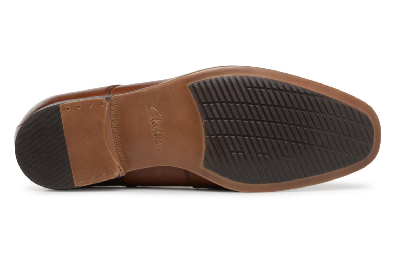 Chaussures à lacets Clarks Conwell Plain Marron vue haut