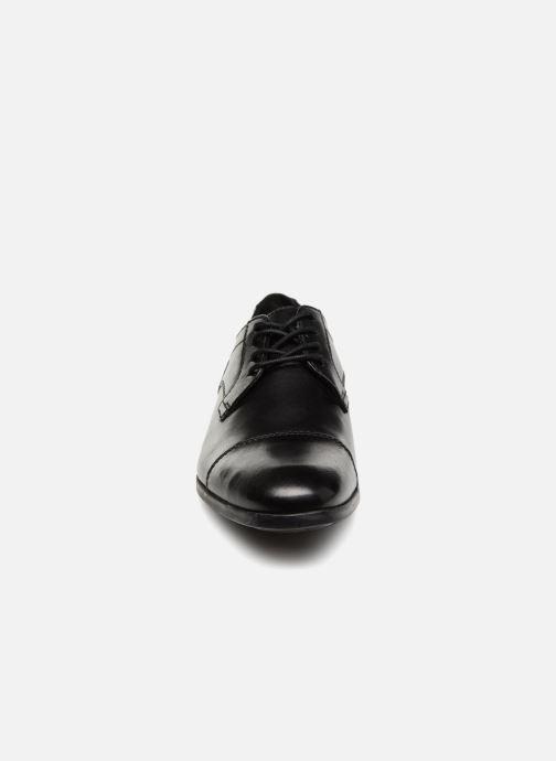 Chaussures à lacets Clarks Conwell Cap Noir vue portées chaussures