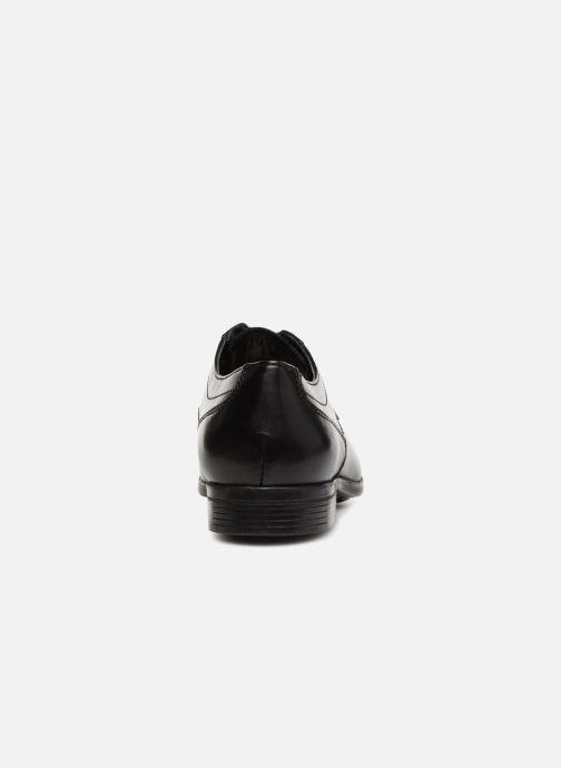 Chaussures à lacets Clarks Conwell Cap Noir vue droite