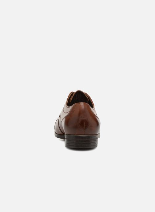 Lace-up shoes Clarks Conwell Cap Brown view from the right