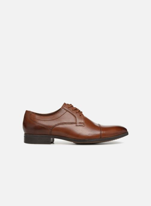 Lace-up shoes Clarks Conwell Cap Brown back view