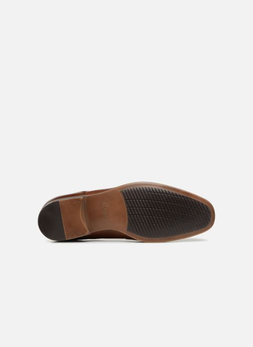 Lace-up shoes Clarks Conwell Cap Brown view from above