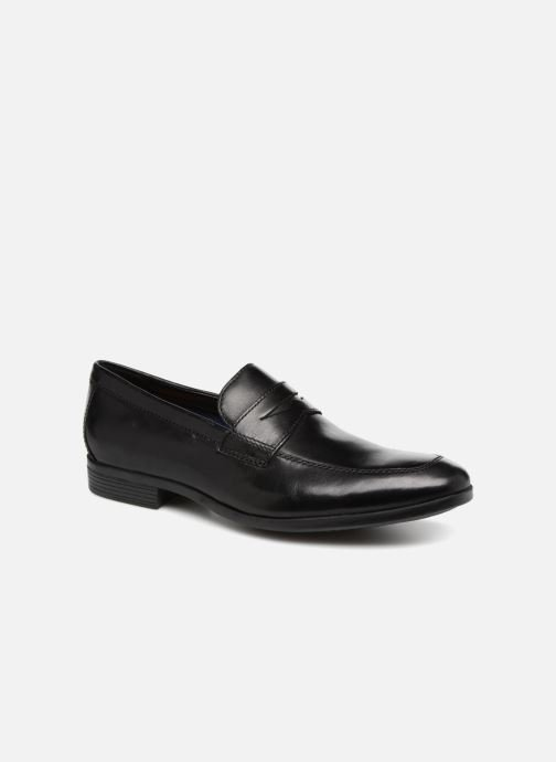 Loafers Clarks Conwell Way Black detailed view/ Pair view