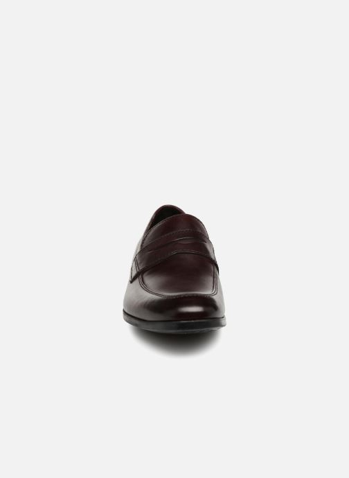 Loafers Clarks Conwell Way Burgundy model view
