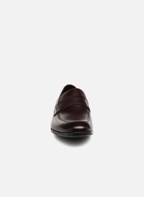Mocassins Clarks Conwell Way Bordeaux vue portées chaussures