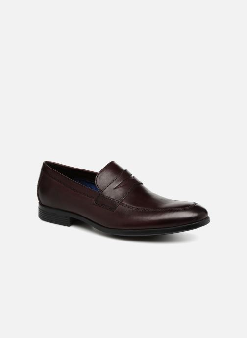 Mocassins Clarks Conwell Way Bordeaux detail