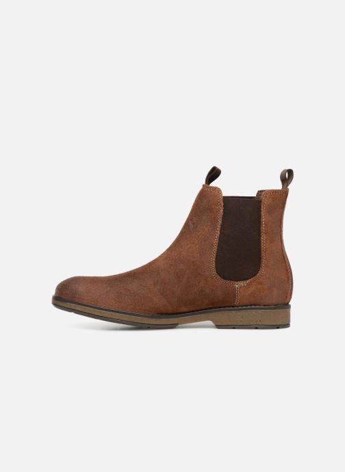 Bottines et boots Clarks Hinman Chelsea Marron vue face