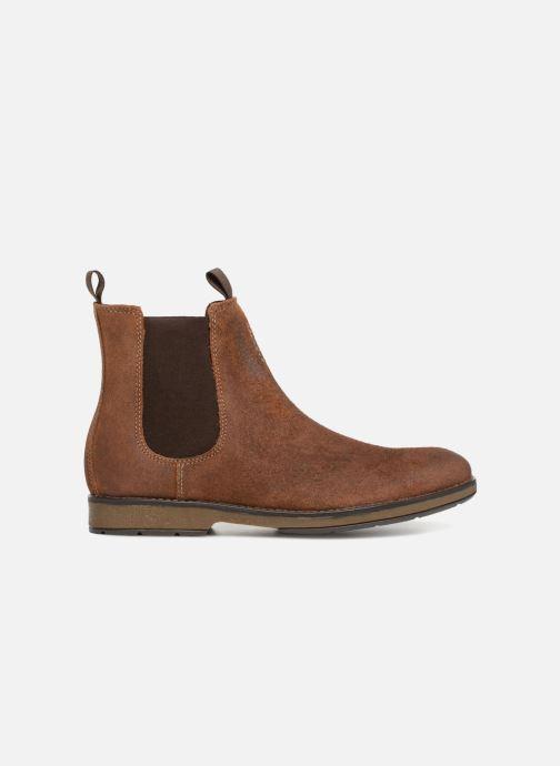 Boots en enkellaarsjes Clarks Hinman Chelsea Bruin achterkant