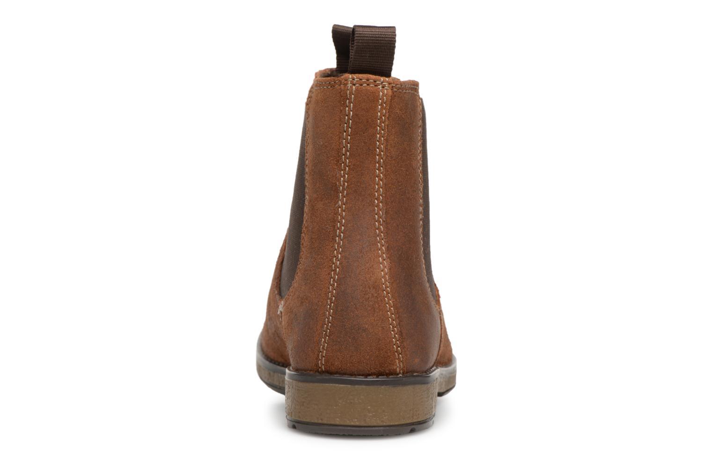 Bottines et boots Clarks Hinman Chelsea Marron vue droite