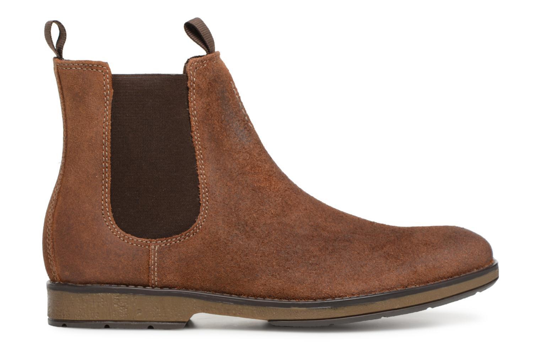 Bottines et boots Clarks Hinman Chelsea Marron vue derrière