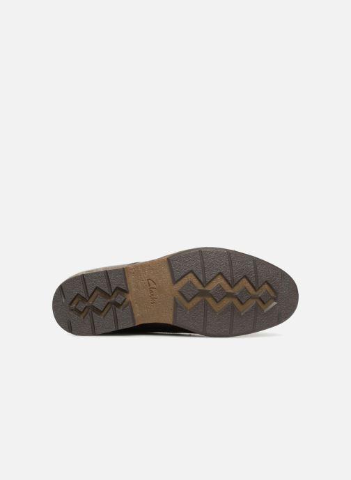 Scarpe con lacci Clarks Hinman Plain Marrone immagine dall'alto