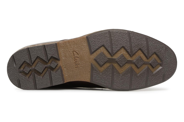 Chaussures à lacets Clarks Hinman Plain Marron vue haut