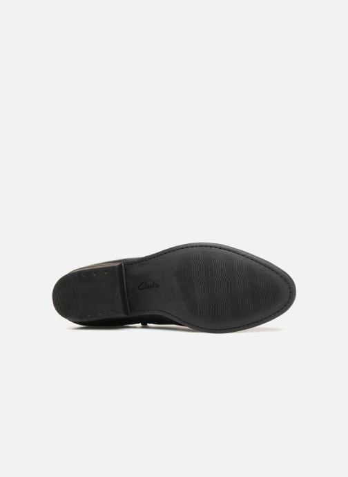 Bottines et boots Clarks Addiy Kara Noir vue haut