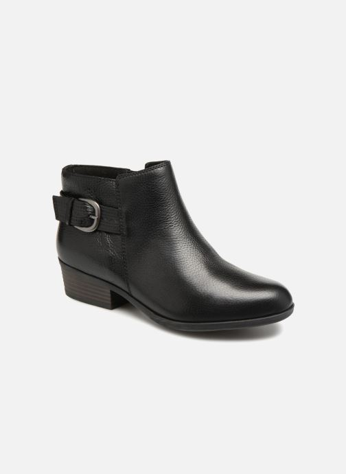Bottines et boots Clarks Addiy Kara Noir vue détail/paire