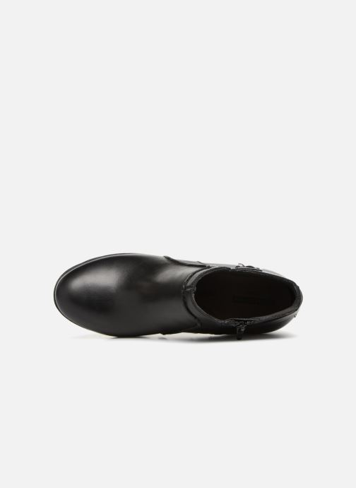 Bottines et boots Clarks Enfield Kayla Noir vue gauche