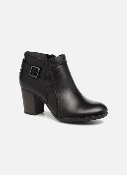 Ankle boots Clarks Enfield Kayla Black detailed view/ Pair view