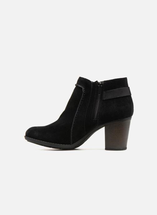 Bottines et boots Clarks Enfield Kayla Noir vue face
