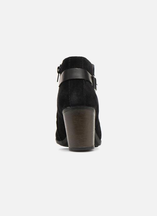 Bottines et boots Clarks Enfield Kayla Noir vue droite