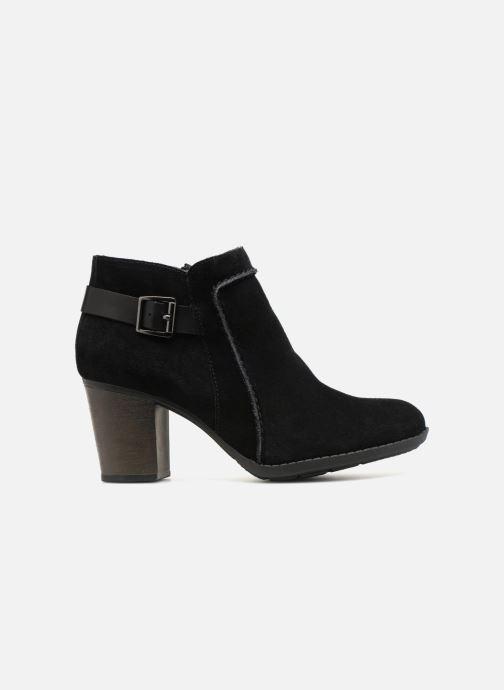 Bottines et boots Clarks Enfield Kayla Noir vue derrière