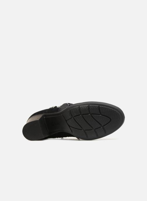 Bottines et boots Clarks Enfield Kayla Noir vue haut