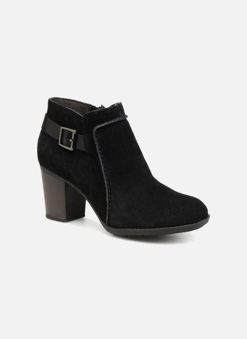 Bottines et boots Clarks Enfield Kayla Noir vue détail/paire