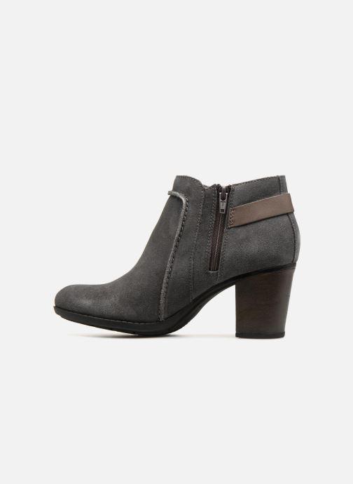 Boots en enkellaarsjes Clarks Enfield Kayla Grijs voorkant