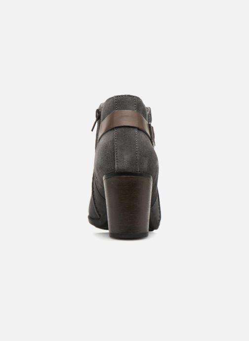 Boots en enkellaarsjes Clarks Enfield Kayla Grijs rechts