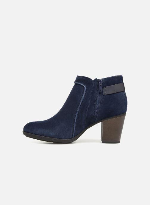 Bottines et boots Clarks Enfield Kayla Bleu vue face