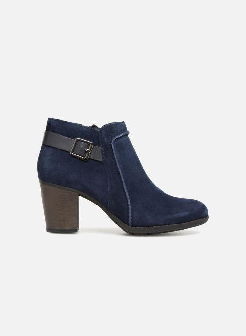 Bottines et boots Clarks Enfield Kayla Bleu vue derrière