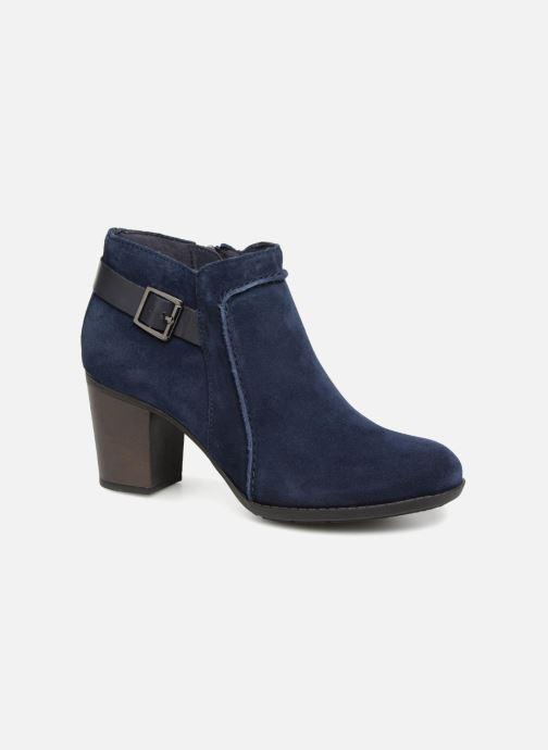 Bottines et boots Clarks Enfield Kayla Bleu vue détail/paire