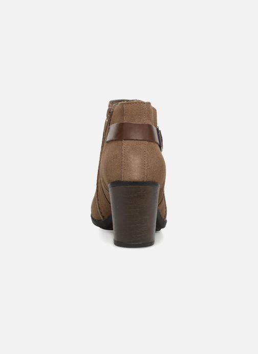 Bottines et boots Clarks Enfield Kayla Beige vue droite