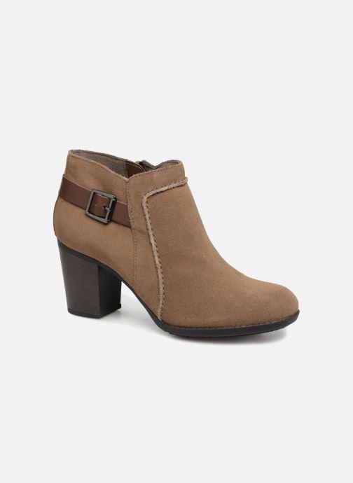 Bottines et boots Clarks Enfield Kayla Beige vue détail/paire