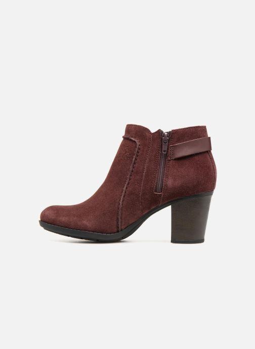Bottines et boots Clarks Enfield Kayla Bordeaux vue face