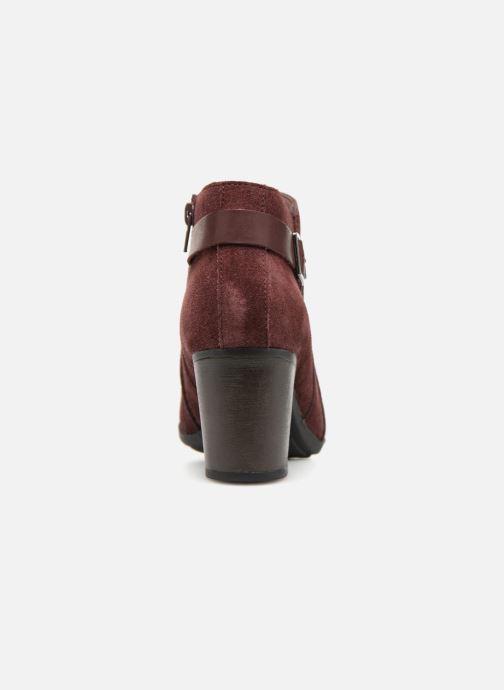 Bottines et boots Clarks Enfield Kayla Bordeaux vue droite