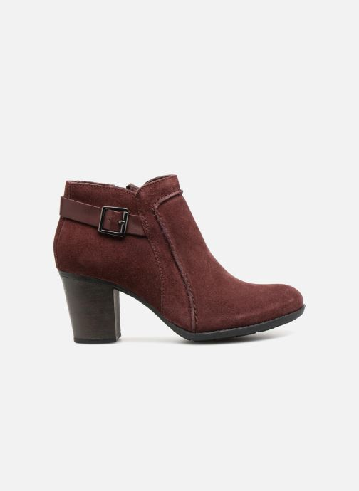 Bottines et boots Clarks Enfield Kayla Bordeaux vue derrière