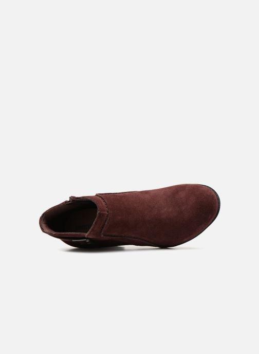 Bottines et boots Clarks Enfield Kayla Bordeaux vue gauche