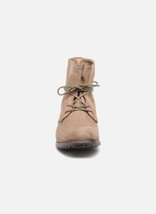 Botines  I Love Shoes Fibleau Size + Beige vista del modelo
