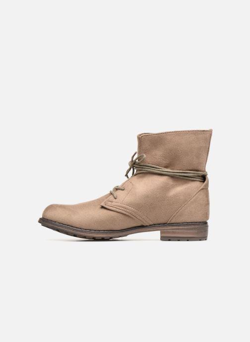 Botines  I Love Shoes Fibleau Size + Beige vista de frente