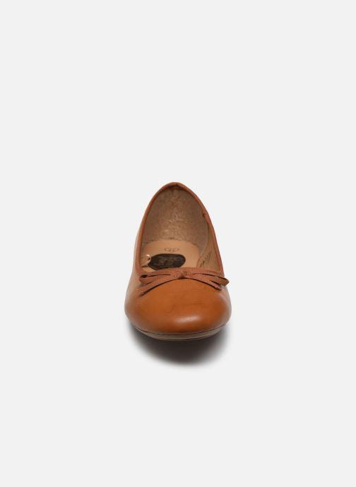 Ballerines I Love Shoes Florenza Size + Marron vue portées chaussures