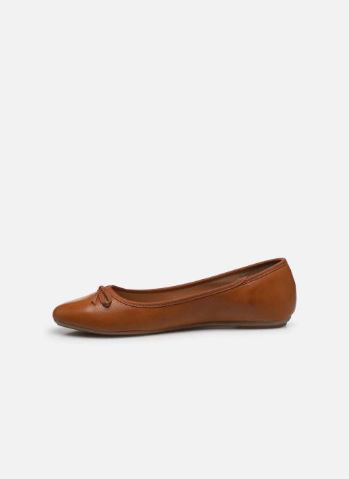 Ballerinas I Love Shoes Florenza Size + braun ansicht von vorne