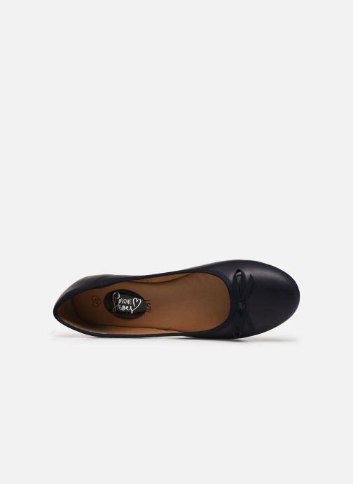 Ballerines I Love Shoes Florenza Size + Bleu vue gauche