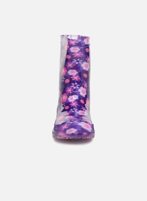 Bottes Be Only Amelia Kid Flash Violet vue portées chaussures